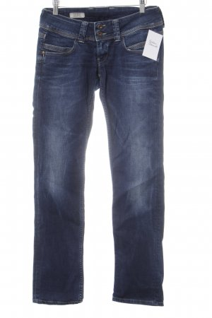Pepe Jeans Straight Leg Jeans dark blue casual look