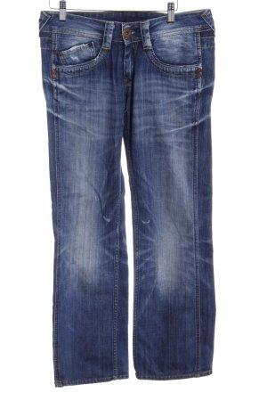 Pepe Jeans Vaquero rectos azul oscuro estilo relajado