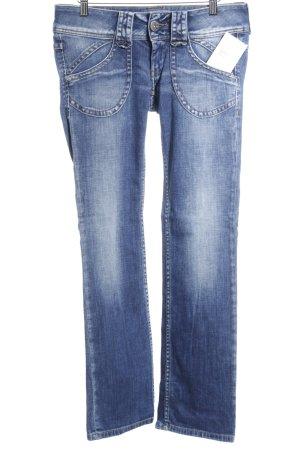 Pepe Jeans Straight-Leg Jeans dunkelblau Jeans-Optik