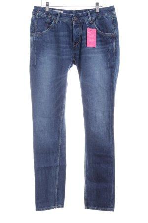 Pepe Jeans Straight-Leg Jeans dunkelblau schlichter Stil