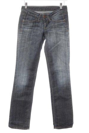 Pepe Jeans Straight-Leg Jeans dunkelblau-stahlblau Casual-Look