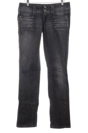 Pepe Jeans Straight-Leg Jeans dunkelgrau Destroy-Optik
