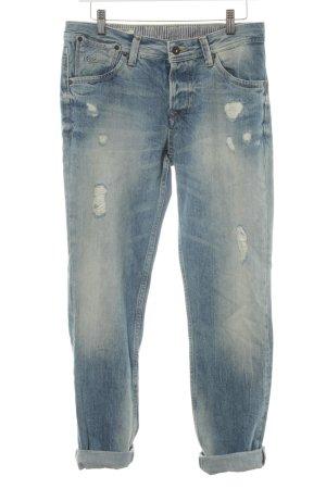 Pepe Jeans Straight-Leg Jeans Farbverlauf Boyfriend-Look
