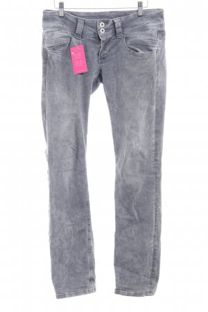 Pepe Jeans Straight-Leg Jeans grau Casual-Look