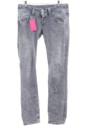 Pepe Jeans Straight-Leg Jeans grau Casual-Look