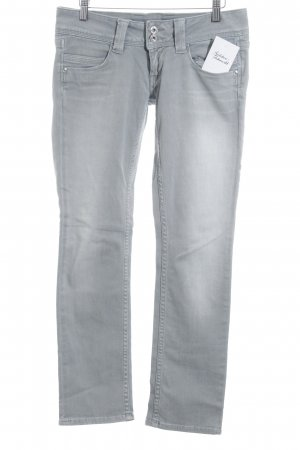 Pepe Jeans Straight-Leg Jeans grau Jeans-Optik