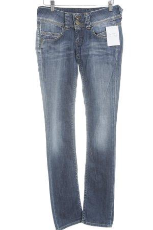 Pepe Jeans Straight-Leg Jeans hellblau-blassblau Boho-Look