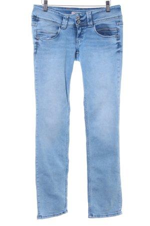 Pepe Jeans Straight-Leg Jeans hellblau Casual-Look