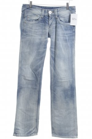 Pepe Jeans Straight Leg Jeans light blue casual look