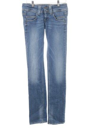Pepe Jeans Straight-Leg Jeans himmelblau Jeans-Optik