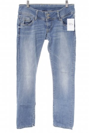 Pepe Jeans Straight-Leg Jeans himmelblau Washed-Optik