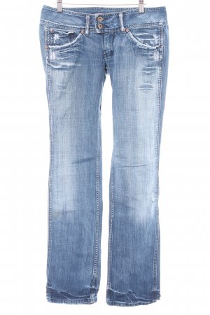 Pepe Jeans Straight-Leg Jeans mehrfarbig Washed-Optik