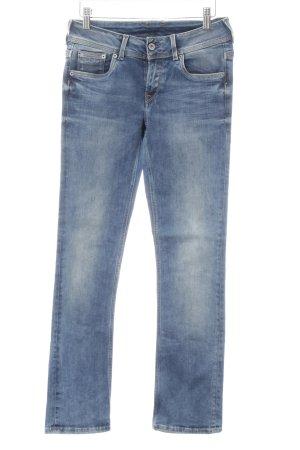 Pepe Jeans Straight-Leg Jeans stahlblau Casual-Look