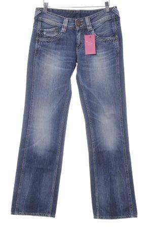 Pepe Jeans Straight-Leg Jeans stahlblau-kornblumenblau Casual-Look