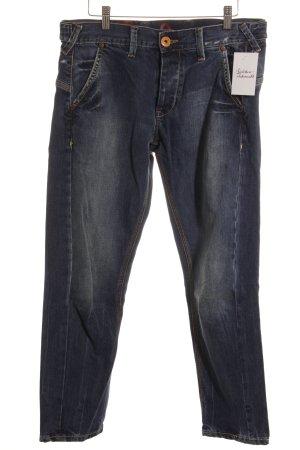 Pepe Jeans Straight-Leg Jeans stahlblau Street-Fashion-Look