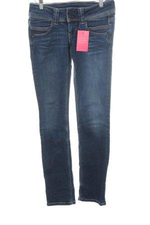"Pepe Jeans Straight Leg Jeans ""Venus"" dark blue"