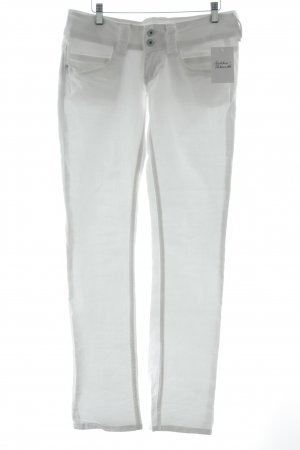 Pepe Jeans Straight-Leg Jeans weiß Casual-Look