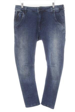 Pepe Jeans Stretch Jeans dunkelblau-stahlblau Casual-Look