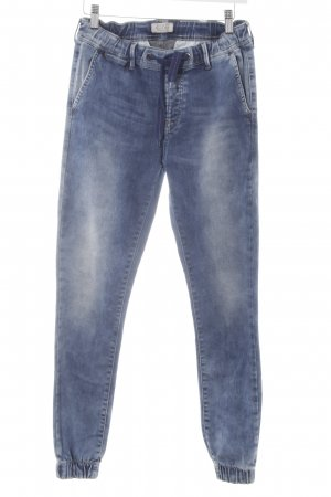 Pepe Jeans Stretch Jeans stahlblau Casual-Look