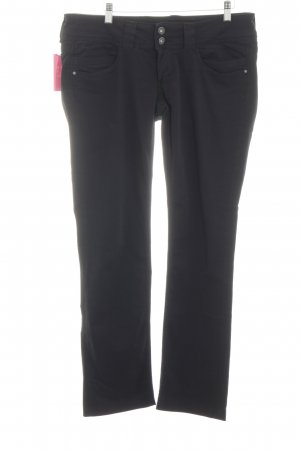 Pepe Jeans Stretchhose schwarz Business-Look