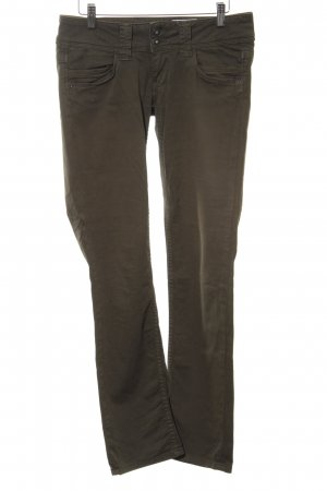 Pepe Jeans Stretch Trousers khaki simple style