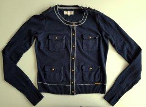 Pepe Jeans Strickjacke Cardigan Marineblau S