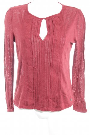 Pepe Jeans Strickpullover rostrot Gypsy-Look