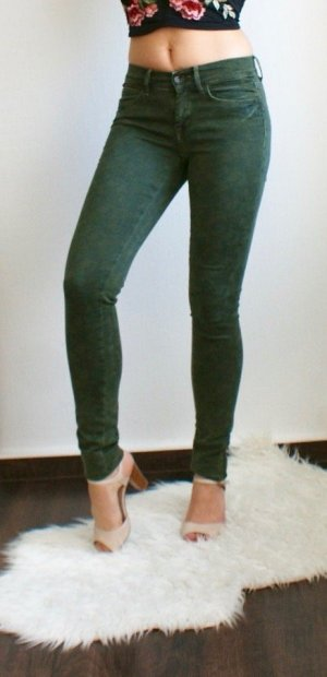 Pepe Jeans - Super Skinny Jeans Stretch Slim Röhrenjeans High Waist Camouflage Army W26 L32