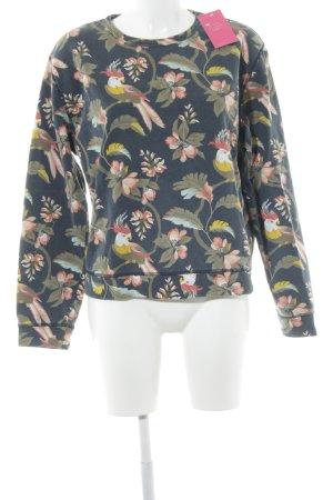 Pepe Jeans Sweatshirt dunkelblau Allover-Druck Beach-Look