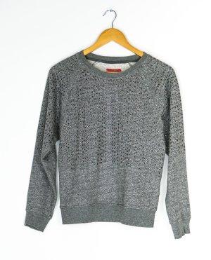 Pepe Jeans Sweatshirt donkergrijs-wit