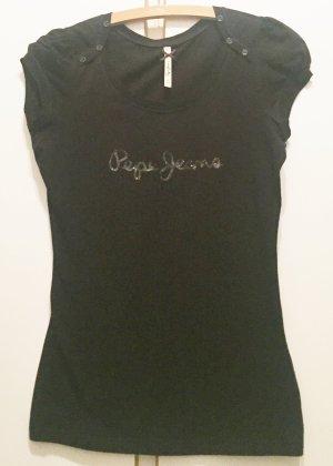 Pepe Jeans Camiseta color plata-negro