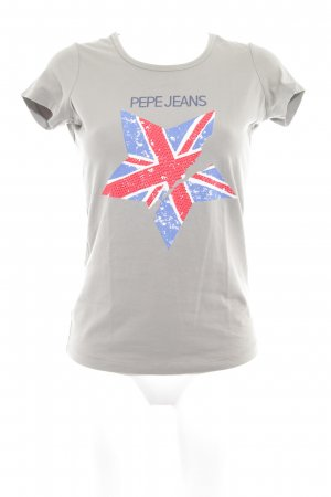 Pepe Jeans Camiseta marrón grisáceo look casual