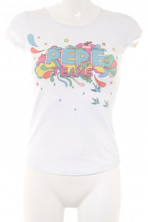 Pepe Jeans T-Shirt mehrfarbig Casual-Look