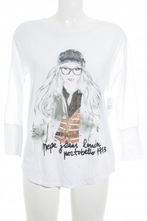 Pepe Jeans T-Shirt Motivdruck Casual-Look