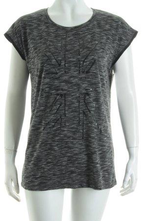 Pepe Jeans Top schwarz-grau Farbverlauf Casual-Look