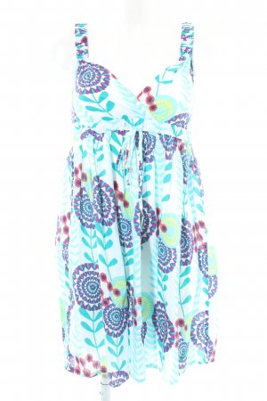 Pepe Jeans Trägerkleid abstraktes Muster Beach-Look