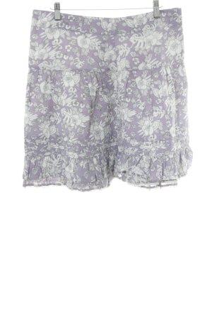 Pepe Jeans Jupe tulipe gris clair-gris lilas motif floral style décontracté