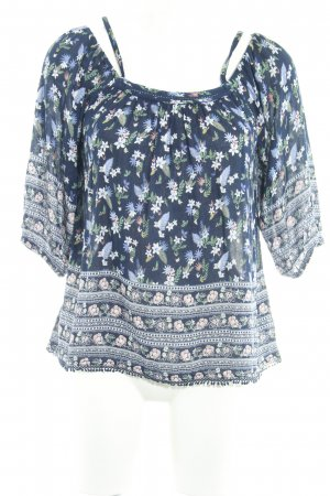 Pepe Jeans Tunikabluse florales Muster Casual-Look
