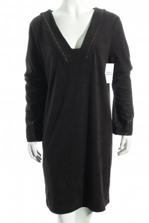 Pepe Jeans Tunic Dress black Rivet elements