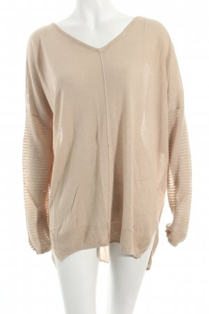Pepe Jeans V-Ausschnitt-Pullover beige Casual-Look