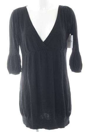 Pepe Jeans V-Ausschnitt-Pullover schwarz Casual-Look