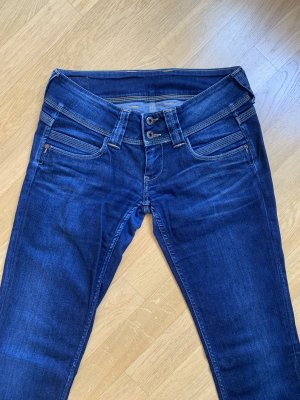 Pepe Jeans London Low Rise Jeans blue-dark blue