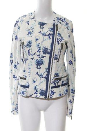 Pepe Jeans Chaqueta encerada estampado floral elegante