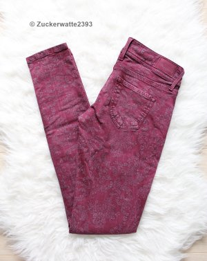 Pepe Jeans Weinrot W25 mit Muster Verzierung