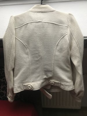 Pepe Jeans Wool Jacket white-silver-colored