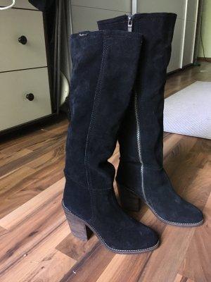 Pepe Jeans Wild Leder Stiefel. Ungleiches Paar. Gr. 37-38