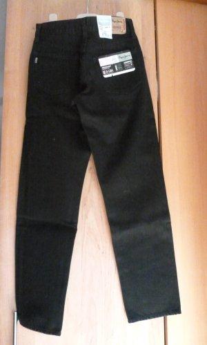 Pepe Jeans zum Knöpfen W27 / L30  schwarz    -  N E U   -