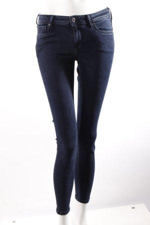 Pepe Skinny-Jeans Low Waist dunkelblau