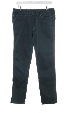 Pepe Straight-Leg Jeans dunkelgrün Casual-Look