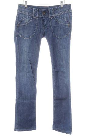 Pepe Straight-Leg Jeans stahlblau Casual-Look